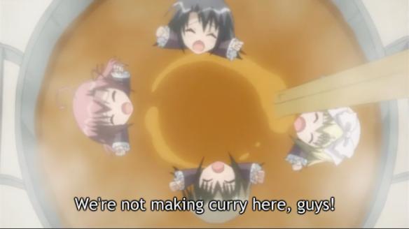 SCD Curry of Chibi Girls Mixing badman