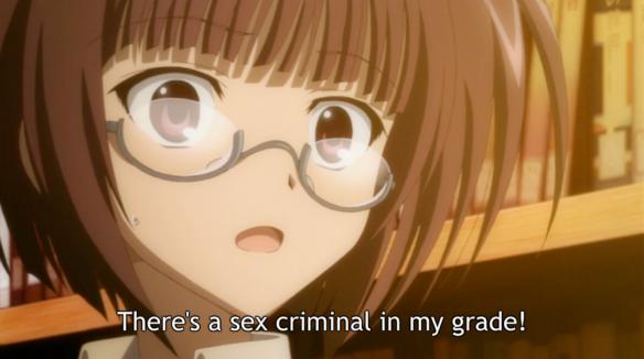 SCD Sex Criminal is near in my grade