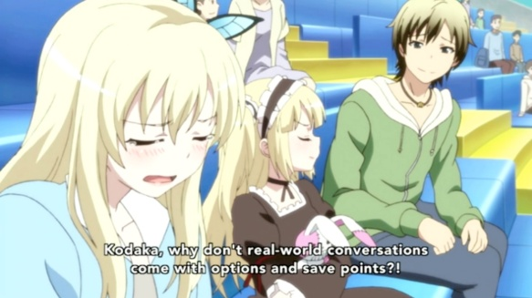 Haganai Why is Real World Not A Video Game