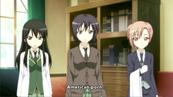 Haganai American Porn That's Gross
