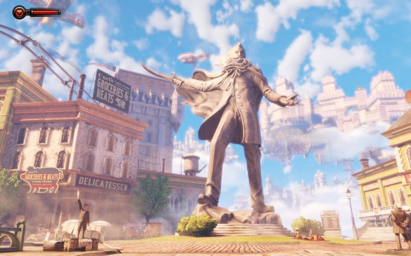 Bioshock-Infinite-Screenshot-Wallpaper-Comstock-Statue