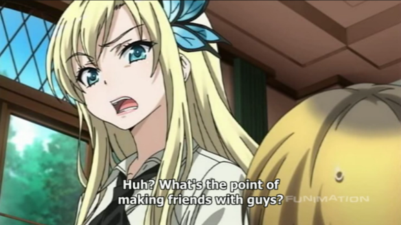 Haganai Why Make Friends With a Guy Males