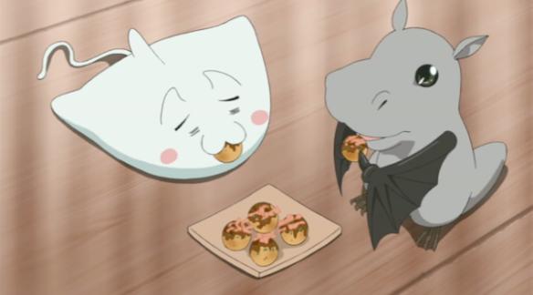 Nyarko Eating Food Cute Animal Thingies Kawaii Cute Adorable