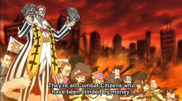 2KLK Blinded by money bribery and general greed root of all evil and you are the puppetmaster fuck you then zeni man of fuckness