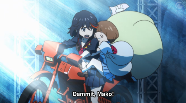 KLK Damnit Mako, you wacky space digger for being so cute that I cannot refuse fine you are excepted