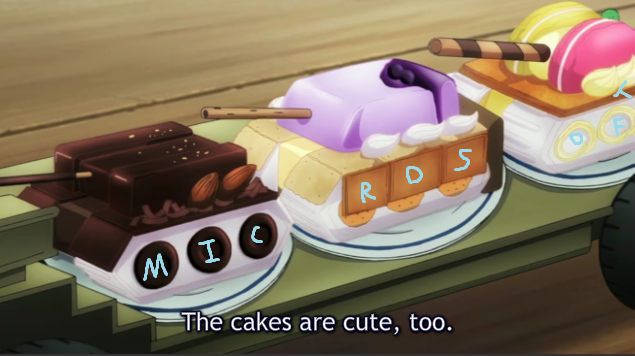 M0GUP Tank Cakes They are badical cute
