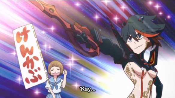 2KLK Okay to this completely absurd and rediculous scenario I guess this is fine thanks