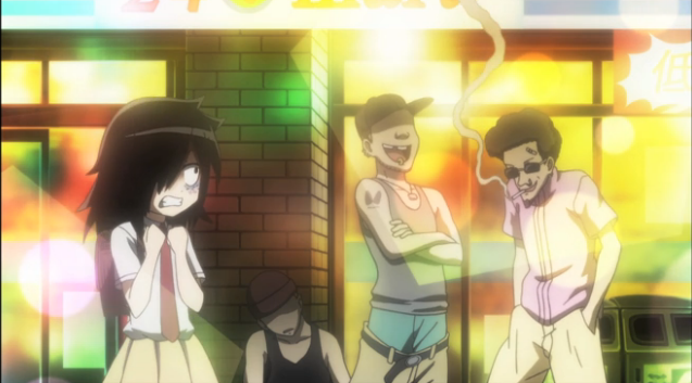 3 Watamote Fuck Balls those chics are creepers gonna go away from their rings and smokes, dawg