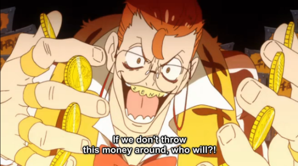 1KLK Spend money because you can frugality is for bitches so be a spendthrift