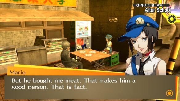 4 P4G Bringing me meat makes you a good person proper morals and such great job at judging the real world you nitwit dummy