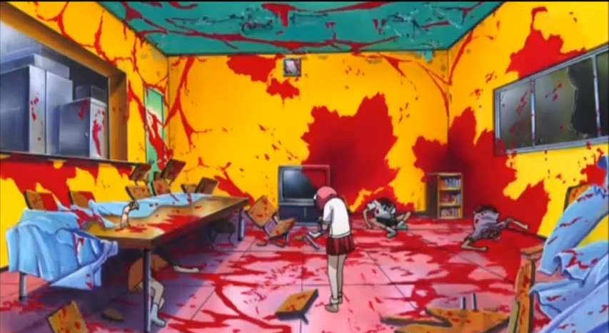 3Elfen Lied Bloody Room