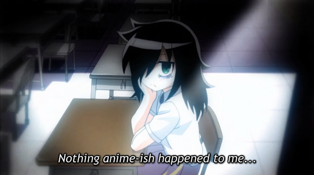 5 Watamote This Is Not an ANime WHy is this so un kawaii