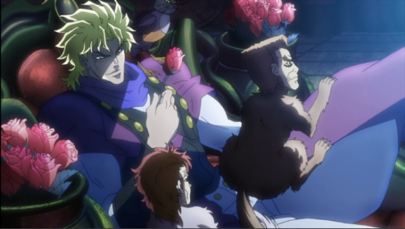 8 Jojo Dio is the best of this fucked up mess that I utterly adore and love so great and sexy