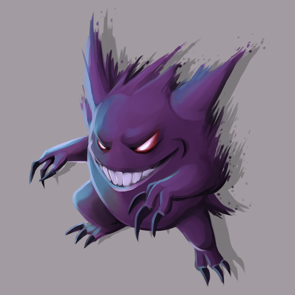 gengar_by_causeimdanjones