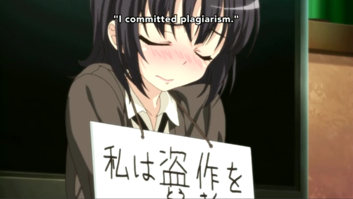 0 Haganai You Commited Plagarism feel bad