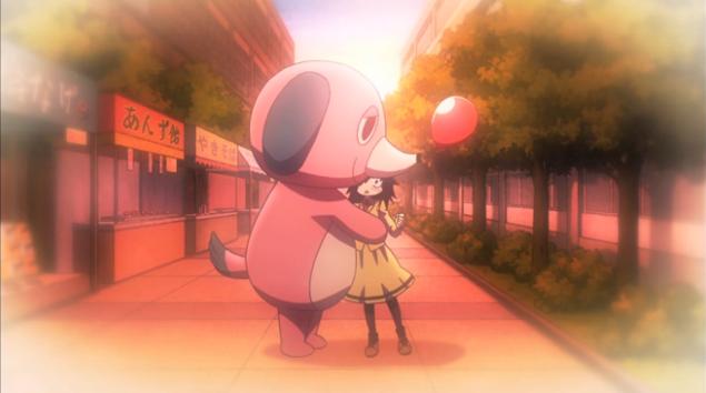 0 Watamote The Unwanted Hug of friendhsip via mascot man