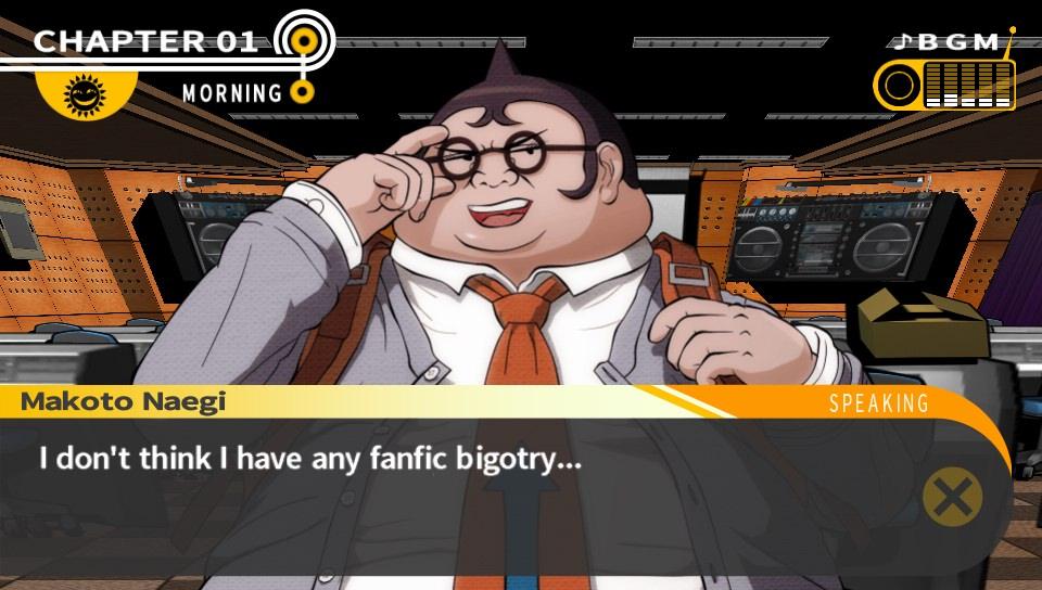 0 DR I have no fanfic bigotry jerk fuckwit good girl