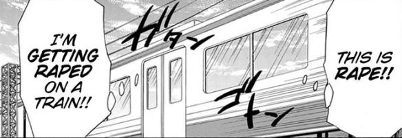 4 WataMote Train Rape
