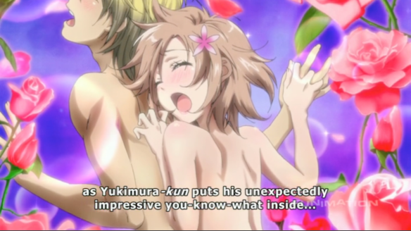 3 Haganai Unexpected Something inside Bums