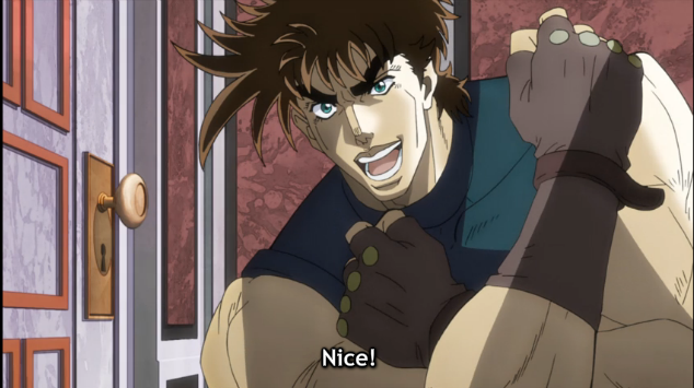4 JoJo nice cool sexy awesome rad dork neato nifty keen