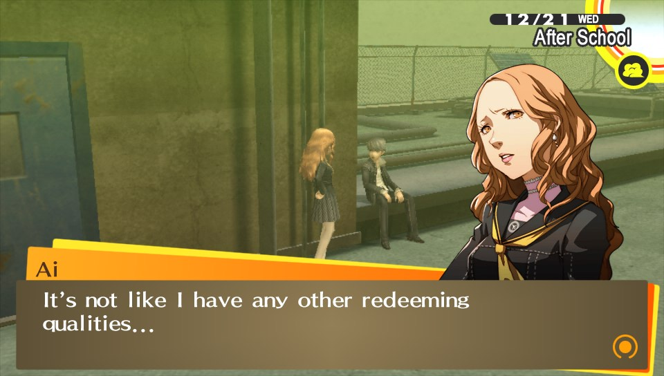 0 P4G I have no redeeming qualities so let me just kill die like a good girl