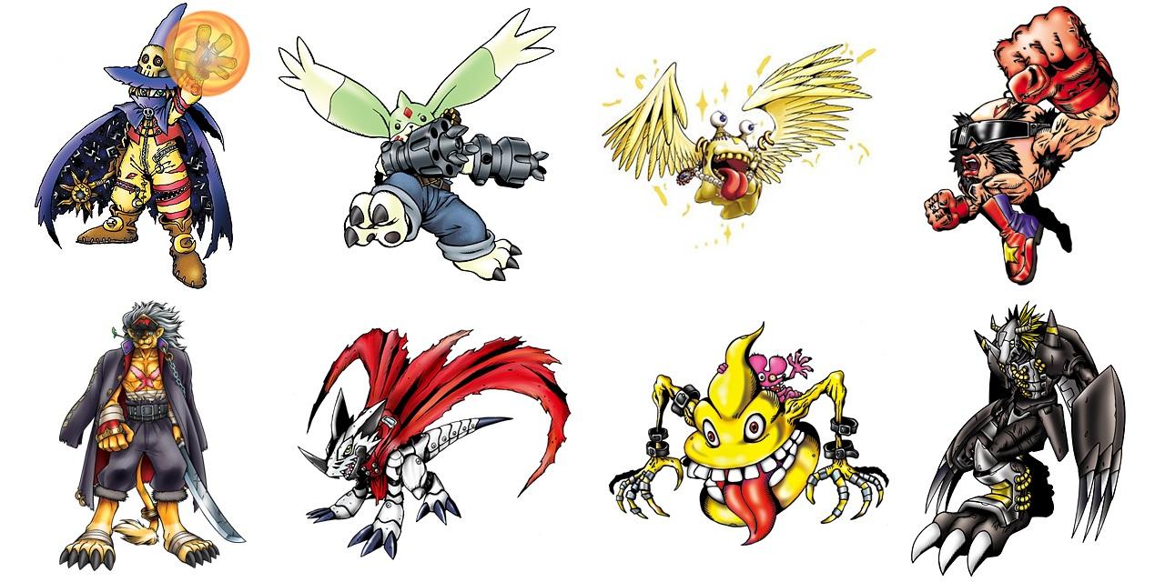 5 Digimons