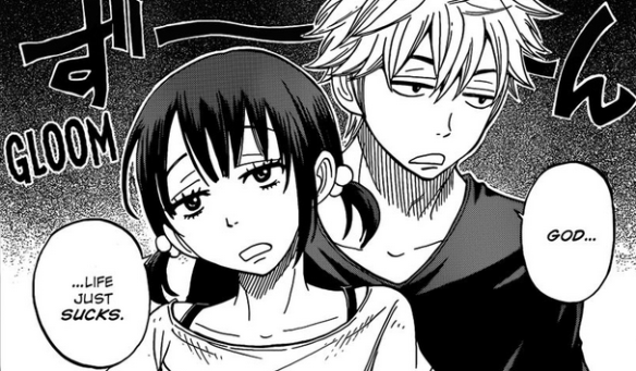 9 Yamada life suck sad depression upset