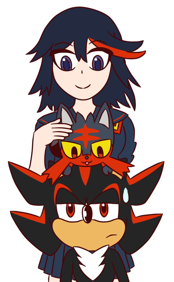Edge Family Ryuko Shadow Litten by Stocky6493