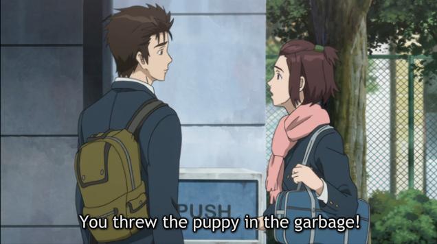 PM garbage trash puppy dog watse worthless rubbish