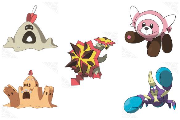 New pokemon 8-19