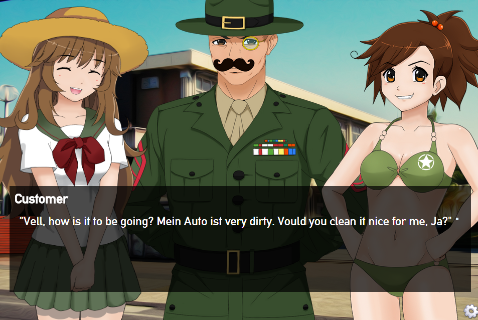 Tank girl dating sim-endungen